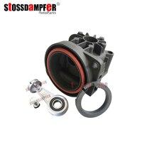 Stossdampfer compressor de ar da bomba cabeça do cilindro pistão anel reparação kit para mercedes w220 w211 w219 audi a8 d3 a6 c5