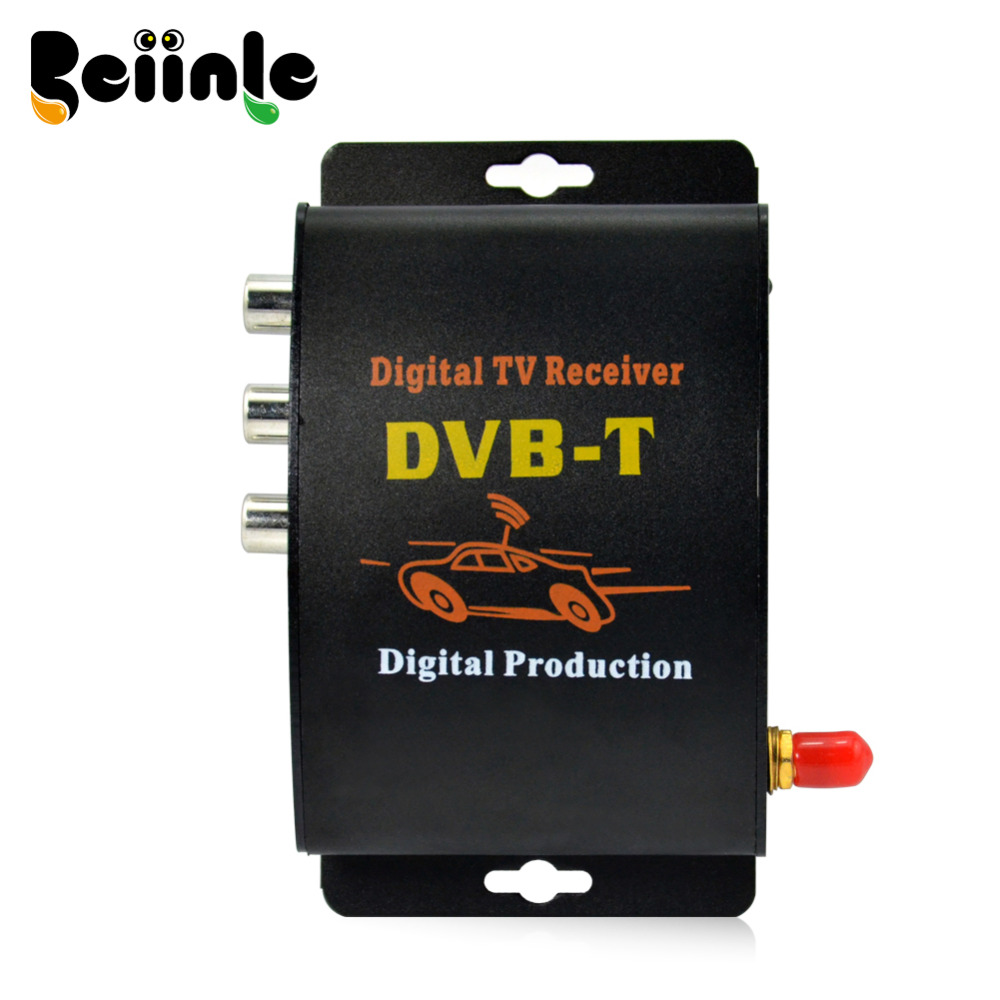 ФОТО Car Single Tuner Way Dual Antenna  DVB-T(MPEG-4) External Digital mobile TV receiver
