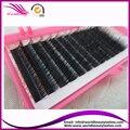(5 bandejas/lot) 100% natural pelo de visón siberiano extensiones de pestañas individuales