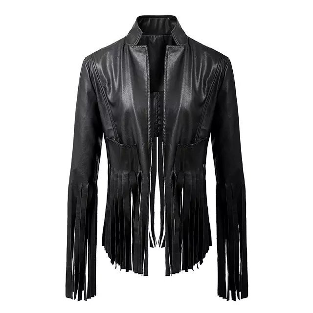 Online Get Cheap Cropped Faux Leather Jacket -Aliexpress.com ...