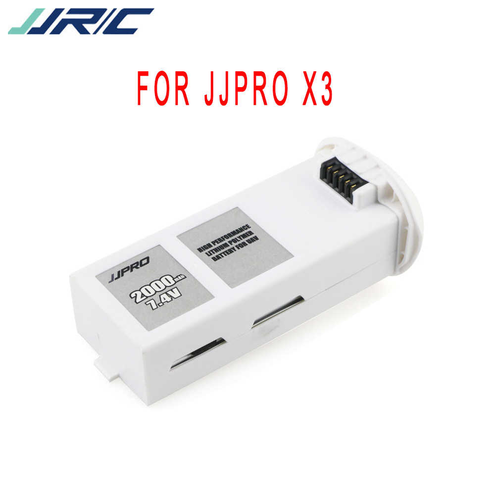 Original JJRC JJPRO X3 GPS RC Drone 7.4V 2000mAh Li-po Battery For JJRC X3 B1 EX1 RC Helicopter Spare Parts Accessories Battery