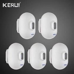 5PCS KERUI P861 Mini Impermeabile PIR Sensore di Movimento Esterno Per KERUI Wireless di Allarme di Sicurezza Antifurto Sistema di Allarme