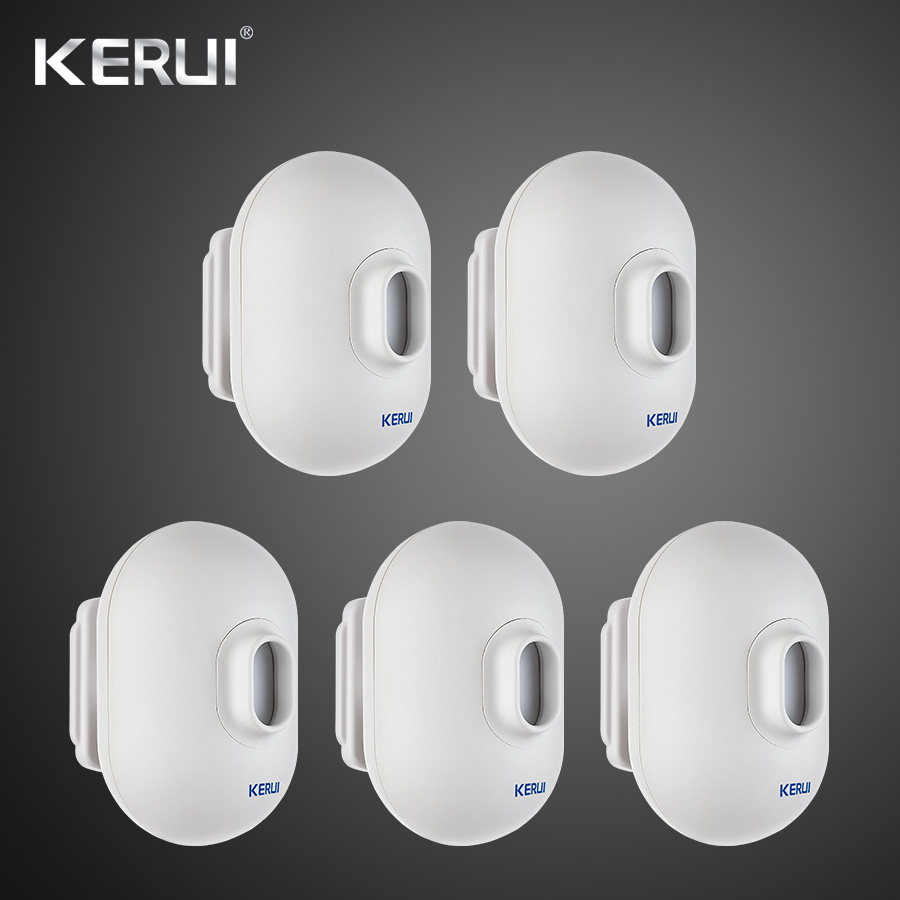 5PCS KERUI P861 Mini Waterproof PIR  Outdoor Motion Sensor For KERUI Wireless Security Alarm Burglar Alarm System