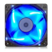 Вентилятор охлаждения корпуса компьютера 120 мм 3PIN кулер процессора тихий светодиодный радиатор воды 120*120*25 вентилятор