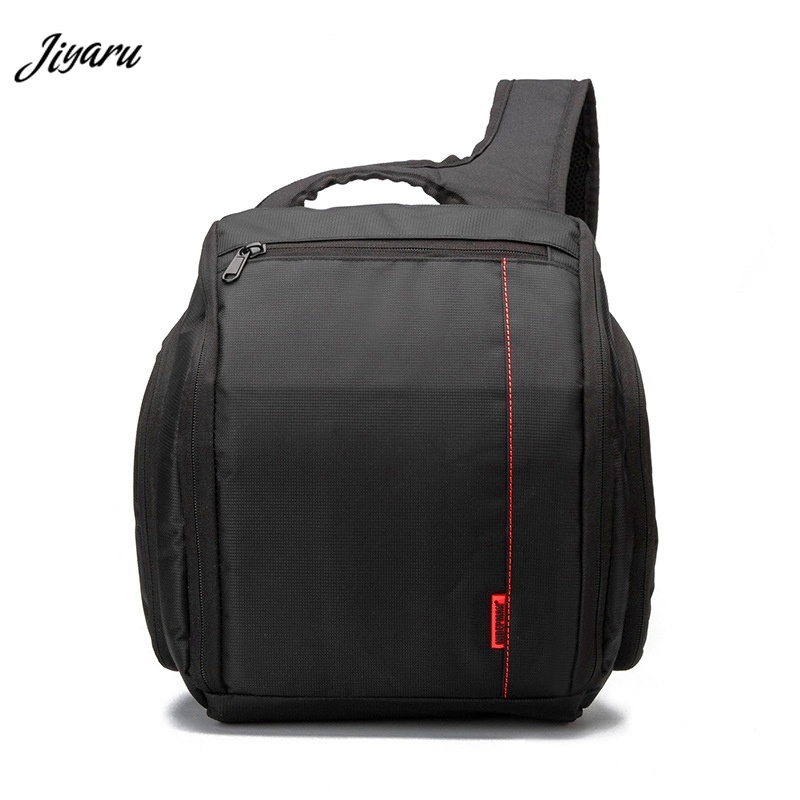 Photo Camera Sling Bag Waterproof Shockproof DSLR Camera Bags Shoulder Cross Digital Case Men Women Chest Bag 2018 waterproof men messenger camera bag brand camera video bags photo bag men digital dslr camera laptop shoulder bags li 1394