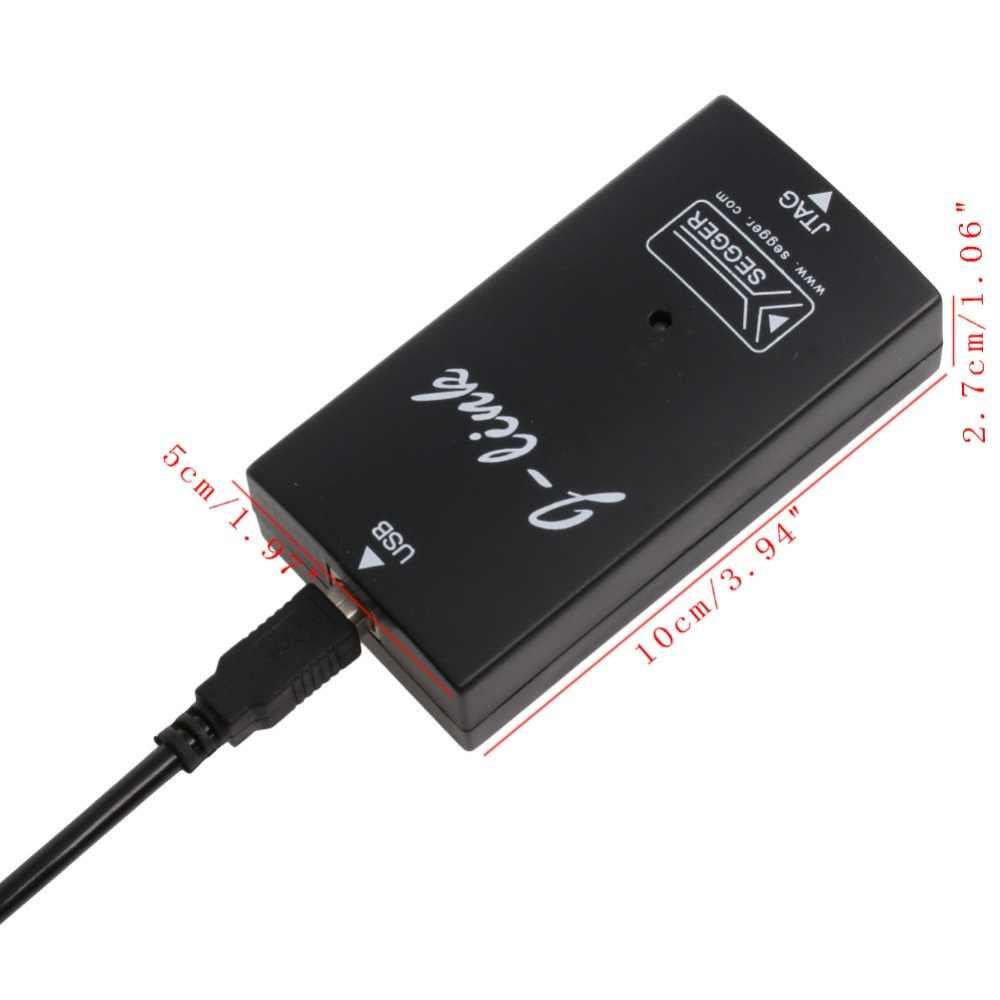 1 PC Nhựa Cao cấp J-Liên Kết JLink V8 USB CÁNH TAY JTAG Giả Lập Trình Gỡ Lỗi J-Liên Kết V8 Giả Lập