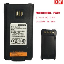XQF Li-ion DC 7.4V 2500mAh 18.5Wh Battery for Hytera Radios PD700 PD780 цена