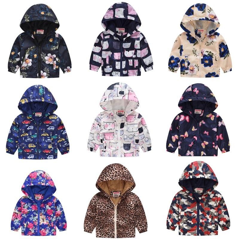 Rikkids Kids Jacket Printed Spring Summer Children Clothing