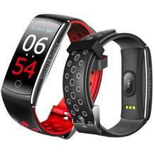 Waterproof Good Bracelet Q8s Coronary heart Charge Good Wristband Good band Health Tracker Good Watch Males reloj PK Xiaomi mi band 3