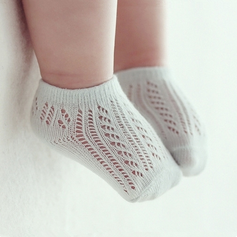 Baby Girl Socks Cotton Summer Breathable Baby Girl Socks