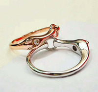 High quality luxurious brand single drill 925 sterling silver bracelet European bracelet for women Wedding Gifts