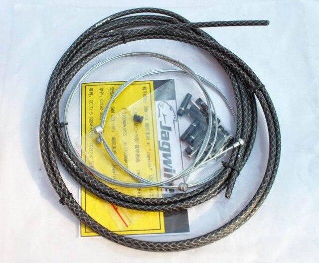 High Quality PRO Housing Jagwire Cable Brake Shifter Kit Hose+Derailleur Kits Brake 4 Colors