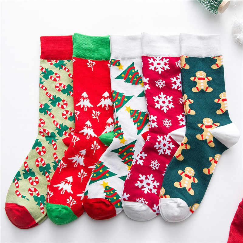 Winter hoge kwaliteit Harajuku jeugd stijl vrouwen mannen katoen hip hop sokken mannen kousen mannen Calcetines kerst kousen