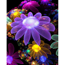 5D diy diamond painting beautiful flower full square embroidery mosaic cross stitch needleworks H762