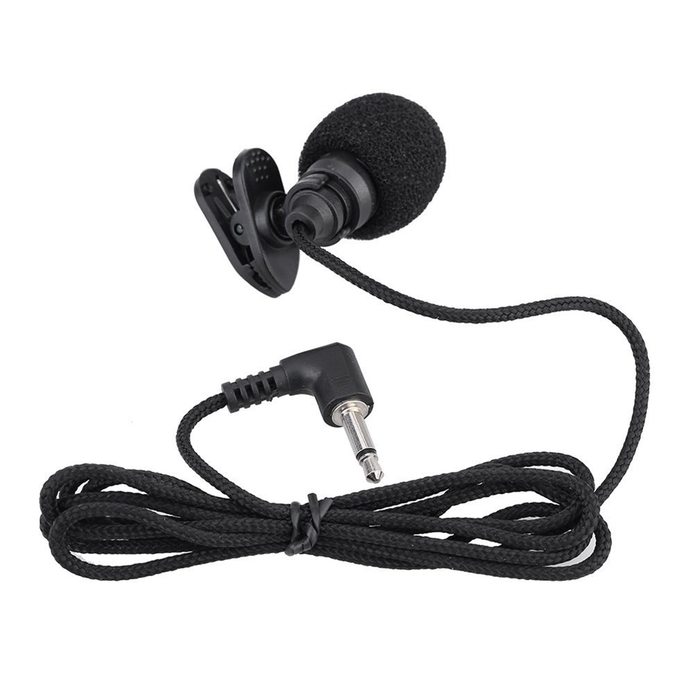 Hot Deal Mini Portable Clip-on Lapel Hands-free 3.5mm Jack Condenser Microphone Mic For Computer PC Laptop Loudspeaker