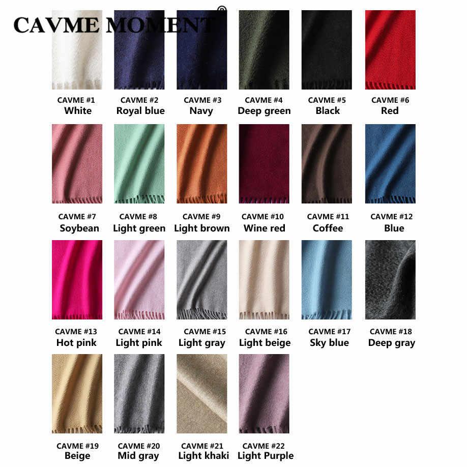 CAVME ユニセックスカシミヤスカーフ基本ロングスカーフ無地クラシックなシンプルな女性男性のラップショール 100% カシミヤ 30*180 センチメートル 120 グラム