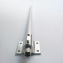 هوائي أومني ثنائي النطاق بقدرة 2.4 جيجا هرتز/5 جيجا هرتز 5.8 جيجا هرتز هوائي عالي الربح N من النوع للرجال لشبكة الشبكة المحلية اللاسلكية الخارجية