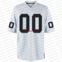 ee455555 Custom Oakland Quick-Dry Flexible Short T-shirts Cheap Football Jersey For  Men Women Youth Size S-4XL