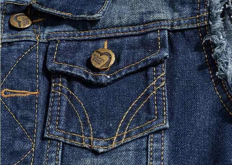 スリム男性のデニムベストメンズ淡色チョッキメンズノースリーブジーンズジャケットカウボーイノースリーブジャケット