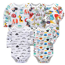 Newborn Toddler Infant Baby Girl Jumpsuit Romper Cotton Long Sleeve 0-24 Months Playsuit Outfits Cute Cartoon Cloth все цены