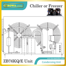 Copland ZB76KQ/E(10HP) open type Condensing Unit for  60~200m3 cooler or freezer room for Dairy products storage