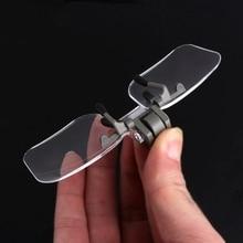 ANENG 2X очки Стиль Лупа увеличительное стекло с зажимом для чтения