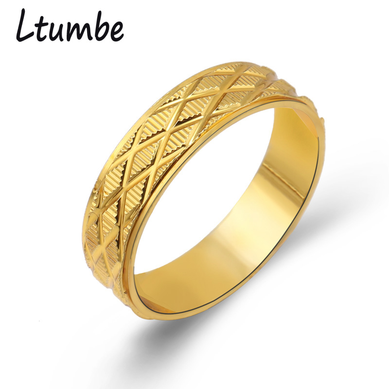 Seblasy Female Wedding Rings Gold Color Carved Cross Finger Rings For Women Lover Wedding Engagement Party Jewelry