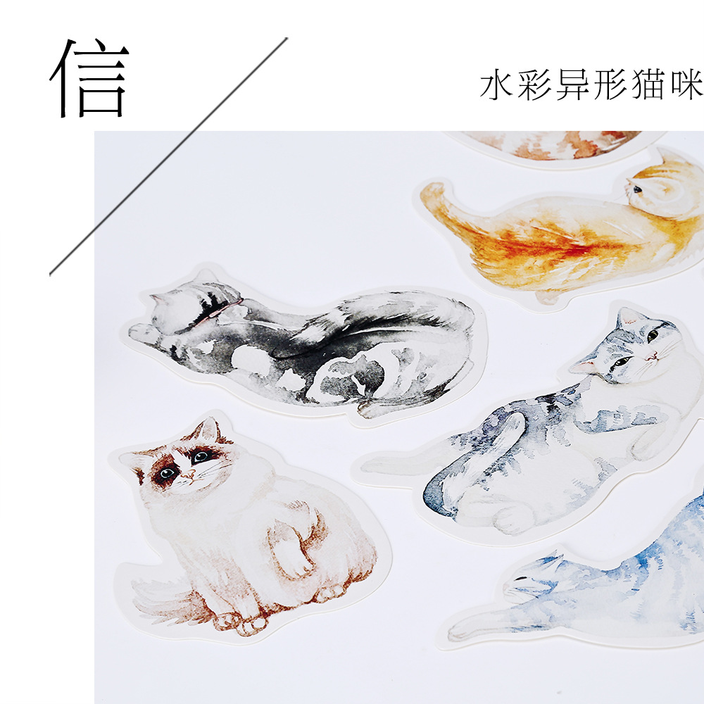 30pcs /1lot Cute Meow planet Greeting Cards Postcards Birthday Letter Business Gift Card Set Message Card