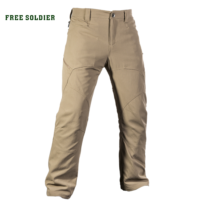 FREE SOLDIER outdoor sports tactical pants scratch- resistants wear-resistants water-resistants pants with multiple pockets