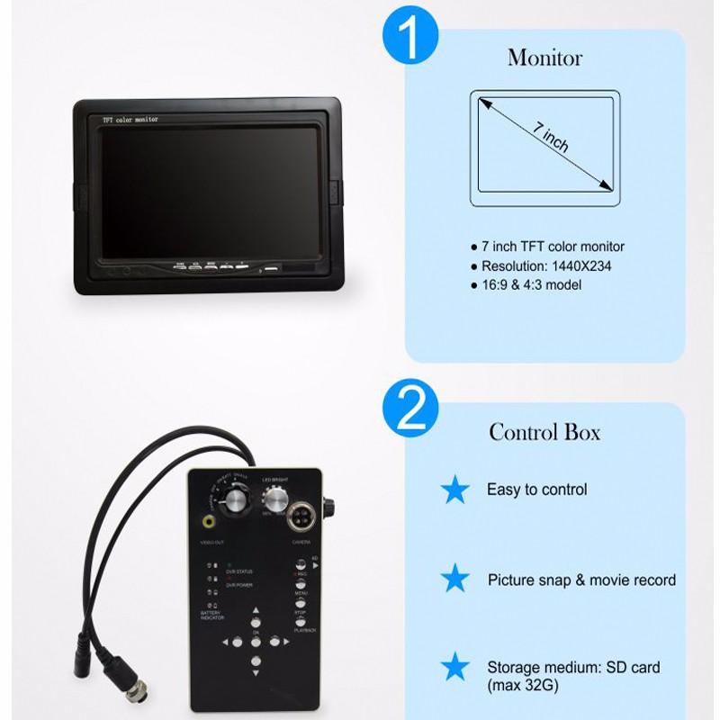パイプラインビデオパイプ検査カメラ710d 本日の割引 IOW AERMANDA 3