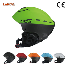 LANOVA Brand Professional Ski Helmet Adult Man Skating / Skateboard Multicolor Snow Sports Helmets M/L Size