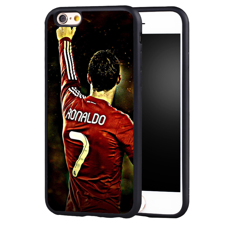 cr7 cristiano ronaldo soccer Soft Silicone case cover for iphone X 8 7 plus 6 6splus 5 5s SE