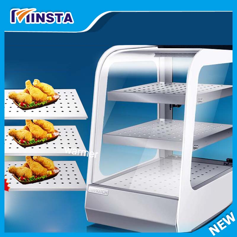 food warmer display showcase snack Heat Preservation Display Insulation moisture cabinet churro display warmer deluxe stainless steel churro showcase machine with heat food warmer and oil filter tray