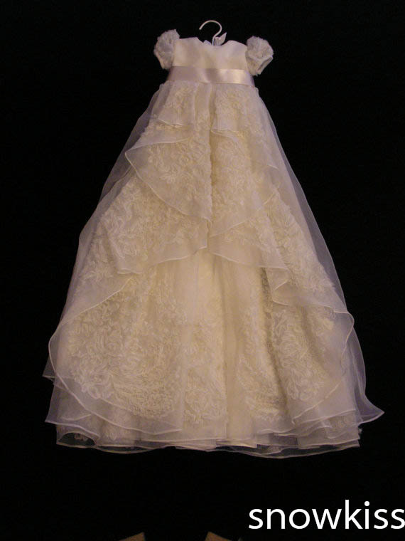 Shop baptism dresses for girls boys for Making baptism dress from wedding gown