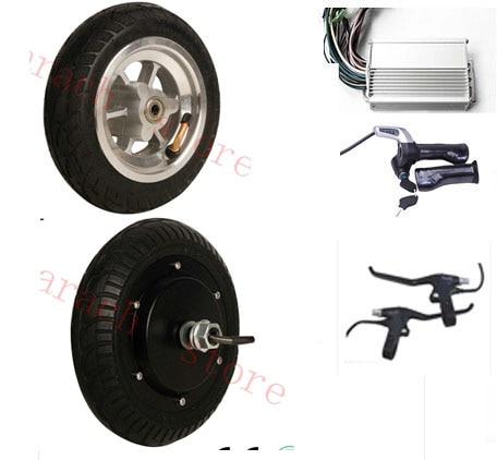 Motor de cubo de rueda eléctrica de 8