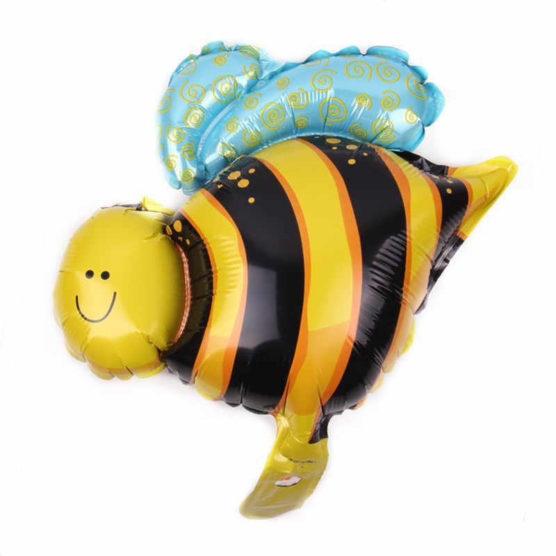 XXPWJจัดส่งฟรีใหม่1ชิ้นมินิผึ้งอลูมิเนียมบอลลูนของเล่นเด็กวันเกิดของบุคคลที่ขายส่งB -004