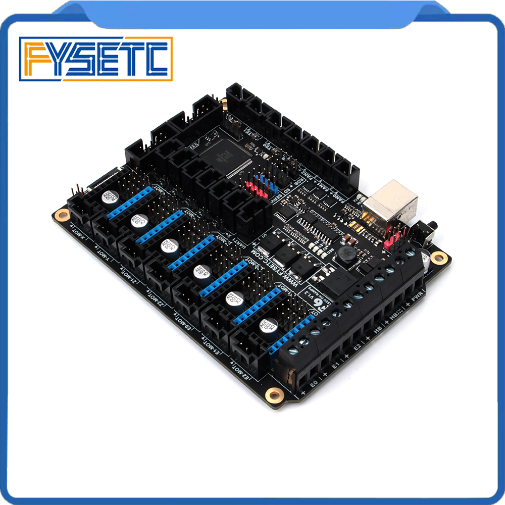 Image 2 - FYSETC F6 Board ALL in one Electronics For 3D Printer CNC Devices Up to 6 Motor Drivers With easy Micro steps VS SKR V1.3-in 3D Printer Parts & Accessories from Computer & Office