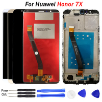 For Huawei Honor 7X LCD Display Touch Screen Digitizer Assembly Replacement  BND AL10 TL10 L21 L22 L24 L34