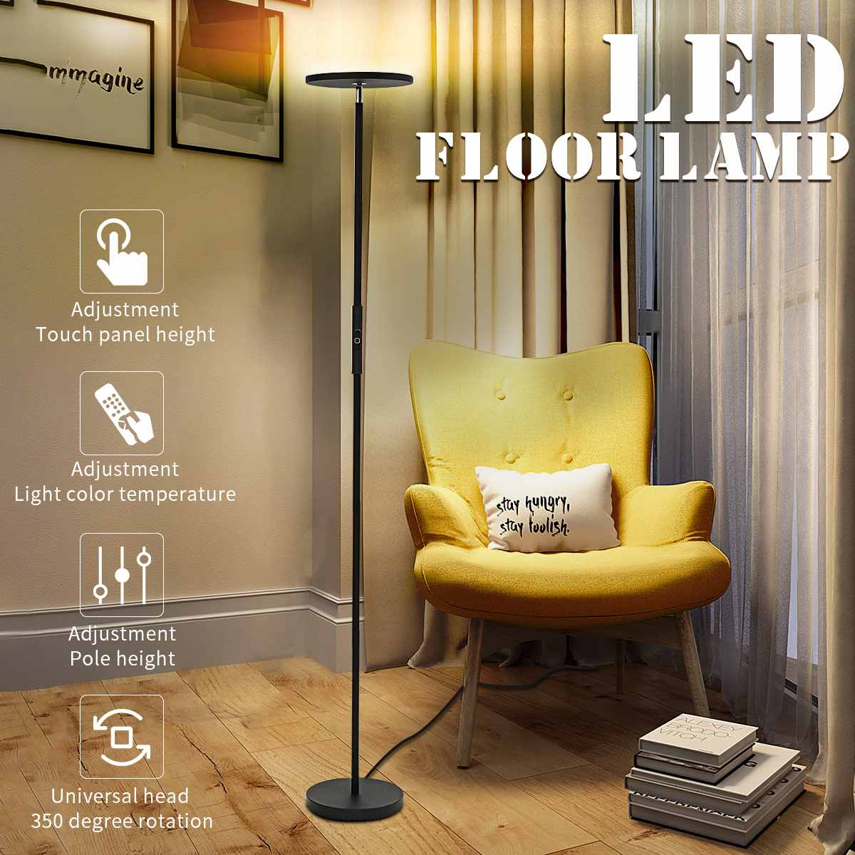 Wifi Type Led Floor Lamps Lights