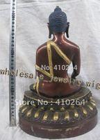 [Tuổi nghề] large Phật Giáo Tây Tạng Phật bronze tượng (A0314)
