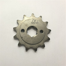 Front Engine Sprocket 520# 13 Teeth 20mm For 520 Chain With Plate Locker Motorcycle Dirt Bike PitBike ATV Quad Parts