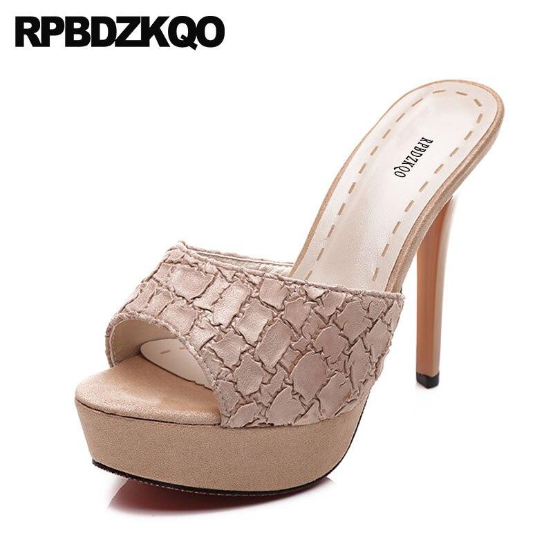 Platform Sexy Snake Sandals Pink Fetish Stiletto Designer Shoes Women Luxury 2017 Slip On Pumps Peep Toe High Heels Slides replay pg14 6 5x16 5x114 3 d67 1 et38 s