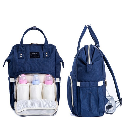 Drop Shipping Nappy Bags Large Capacity Baby Diaper Bag Fashion Maternity Mummy Bags And Waterproof Baby