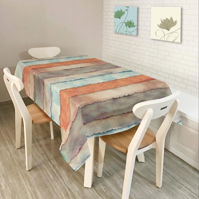 Ny heminredning Bordsduk Matbord Bordsduk Kaffe Restaurang Bordsduk - Hemtextil