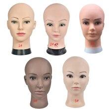 Голова манекена лысой с зажимом женская голова для изготовления