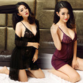 New Sexy Underwear Women Sexy Lingerie Ladies Lace Transparent Conjoined Dress Suit Erotic New Design Hot
