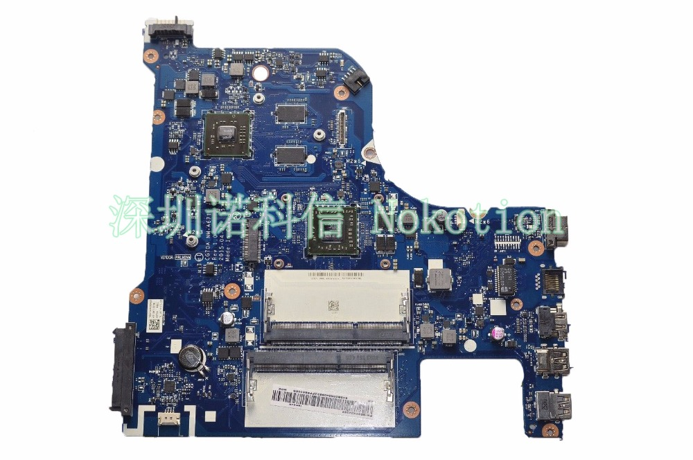 NOKOTION laptop Motherboard for Lenovo G70-35 CPU CG70A NM-A671 A4-6210 Mainboard full works R5 M330