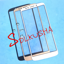 10 Pieces/Lot Front Outer Screen Glass Lens Replacement Touch Screen LCD Cover For Motorola Moto G6 Play xt1922