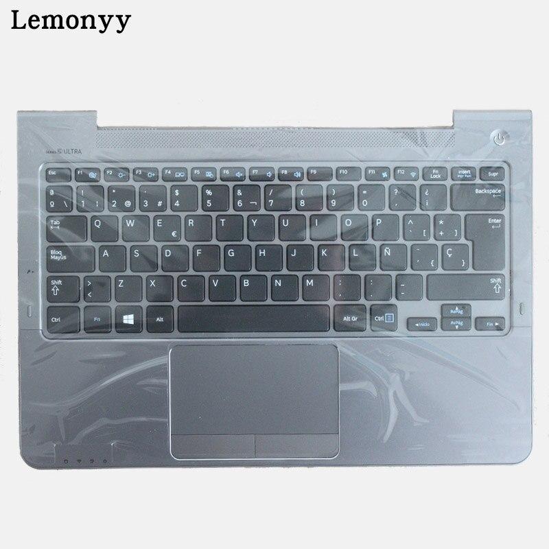 SP для Samsung NP530U3C NP530U3B NP535U3C 530U3B 530U3C NP540U3 NP532U3C NP532U3A Испанский Клавиатура ноутбука серый palmrest крышка
