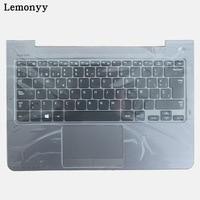 SP For Samsung NP530U3C NP530U3B NP535U3C 530U3B 530U3C NP540U3 NP532U3C NP532U3A Spanish Laptop Keyboard Gray Palmrest
